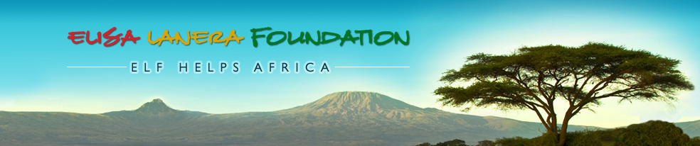 Elisa Lanera Foundation - ELF Helps Africa